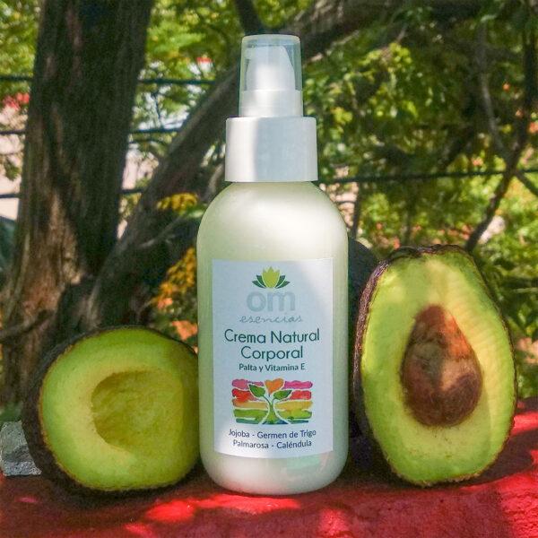 Crema Natural Corporal con Palta y Vitamina E 1